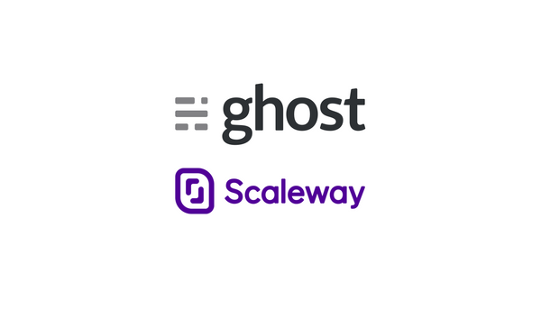 Set Up your Ghost Blog Behind Nginx on a Scaleway Instance